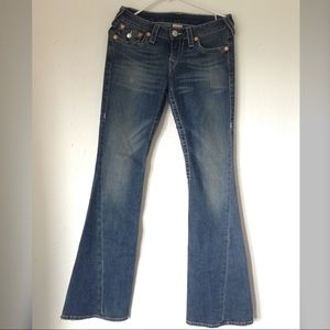 True Religion Blue Jeans Pants Size 28
